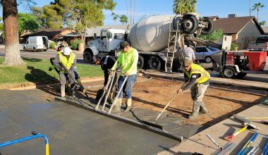 Concrete Driveway Companies in Phoenix Arizona