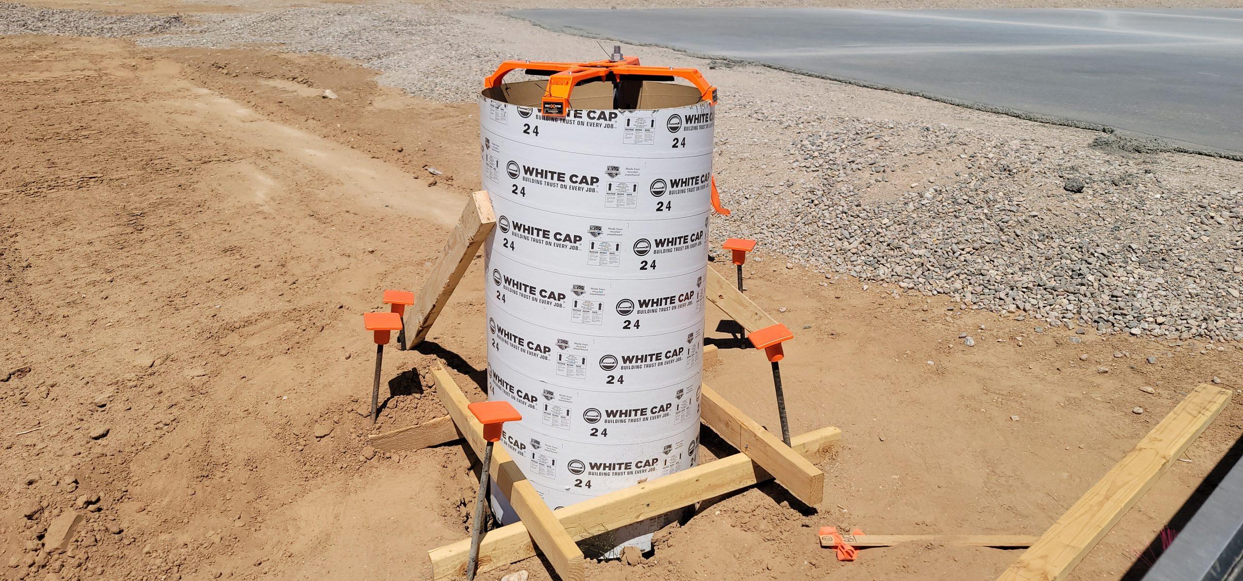 Concrete Light Pole Base Contractors Phoenix AZ