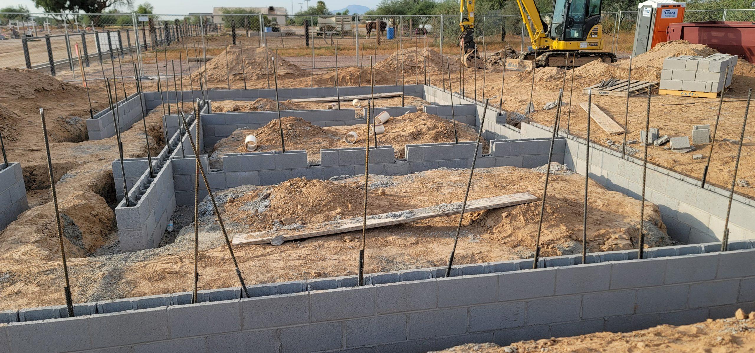 Stem Wall Contractors in Phoenix Arizona
